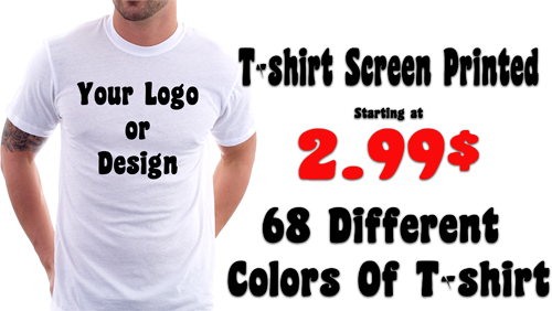 Custom T-shirt Printing Pointe-aux-trembles
