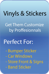 Vinyls sticker laval cutting