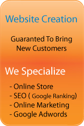 Website creation laval