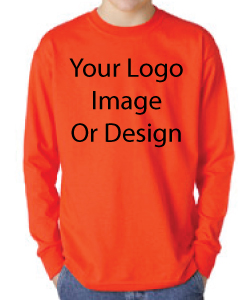 Long sleeve t-shirt printing