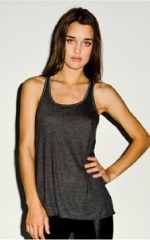 flowy racerback tank top ladies