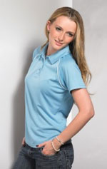 Fit-t women polo wholesale